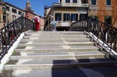 Veneza, Itália, ponte Fotos de Stock