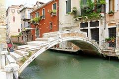 Veneza, Itália, ponte de Chiodo Fotos de Stock