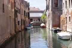 Veneza, Itália, ramo de Rio della Sensa Imagem de Stock Royalty Free