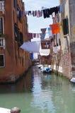 Veneza, Itália, ramo de Rio della Sensa Fotos de Stock