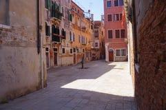 Veneza, Itália, um campo venetian característico Foto de Stock