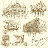 Veneza - Italy ilustração royalty free