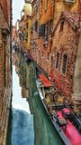 Veneza mágica fotografia de stock