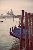 Veneza no azul Imagens de Stock Royalty Free