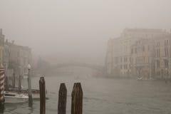 Veneza no outono Fotografia de Stock