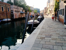 Veneza no verão Fotografia de Stock