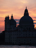 Veneza: por do sol Fotos de Stock