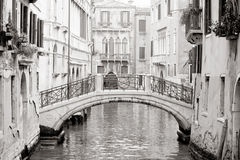 Veneza romântica Imagens de Stock Royalty Free