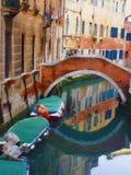 Veneza romântica fotos de stock royalty free
