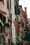 Veneza, rua fotografia de stock