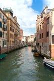Veneza. Rua da água. Fotografia de Stock Royalty Free