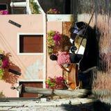 Veneza - série da gôndola Fotos de Stock Royalty Free