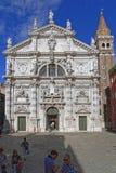 Veneza San Moise foto de stock royalty free