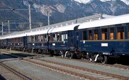 A Veneza Simplon-Orientar-Expressa em Innsbruck Imagem de Stock Royalty Free