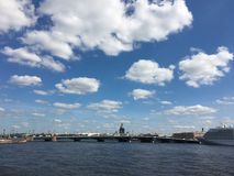 Veneza - St Petersburg do norte Fotos de Stock Royalty Free
