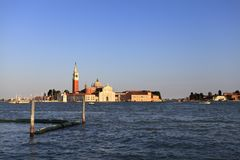 Veneza, Vêneto/Itália - 2012/07/05: Centro da cidade de Veneza - GR Imagens de Stock