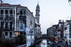 Venezia在春天 免版税库存照片