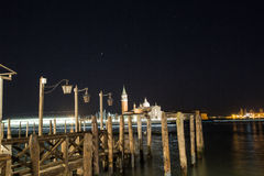 Venezia在春天 库存照片