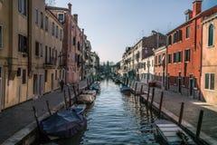 Venezia在春天 库存图片