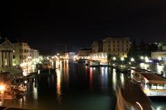 Venezia市运河 库存照片