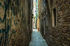 Venezia街道 库存图片