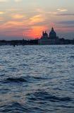 Venezia, S 玛丽亚della致敬 免版税库存图片