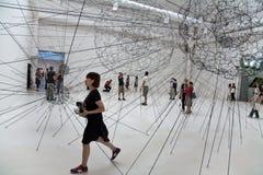venezia Βενετία Biennale Di exibithion 2009 τέχνης Στοκ εικόνα με δικαίωμα ελεύθερης χρήσης