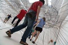 venezia Βενετία Biennale Di exibithion 2009 τέχνης Στοκ Εικόνα
