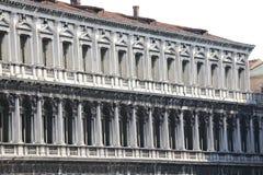 Venezia, Ιταλία - 14 Ιουλίου 2015: Παλάτι Procuratie στο σημάδι Αγίου τετράγωνο Στοκ Εικόνα