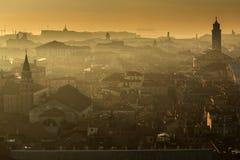 Venezia στο ηλιοβασίλεμα Στοκ Εικόνες