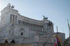 venezia της Ρώμης πλατειών της Ιτ&alp Στοκ φωτογραφία με δικαίωμα ελεύθερης χρήσης