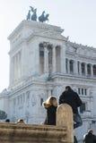 venezia της Ρώμης πλατειών της Ιτ&alp Στοκ Εικόνα