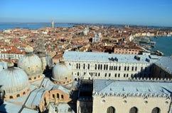 Venezia от башни Сан Marco Стоковая Фотография RF