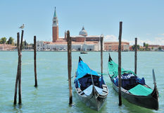 Venezia. The Church of San Giorgio Maggiore in Venice, Italia Royalty Free Stock Images