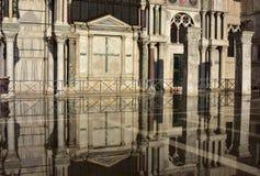 Venezia Acqua Alta Immagini Stock Libere da Diritti