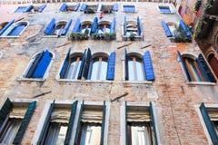 Venezia architecture. Venezia, the water canal city Royalty Free Stock Photo