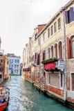 Venezia architecture. Venezia, the water canal city Stock Photo