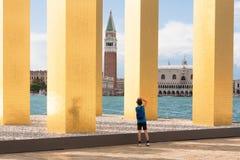 Venezia: arte e cultura Fotografie Stock Libere da Diritti