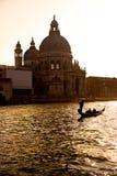 Venezia, basilica del saluto di della della Santa Maria. Immagine Stock Libera da Diritti