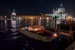 Venezia beautiful view at night, Venice, Italy Stock Photo