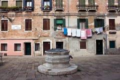 Venezia Campo dei Mori Fotografia Royalty Free