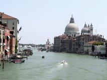Venezia, canale gran Immagine Stock