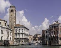 Venezia, canale gran Immagine Stock Libera da Diritti