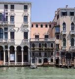 Venezia, canale gran Fotografia Stock Libera da Diritti