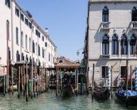Venezia, canale gran Immagini Stock Libere da Diritti