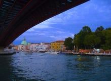 Venezia - canale grande - l'Italia Immagine Stock