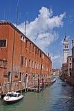 Venezia channel stock image