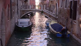 Venezia. Channels of the old town stock video footage