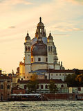 Venezia - chiesa del saluto di della di Madonna immagini stock