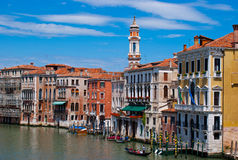 Venezia colorata Fotografie Stock Libere da Diritti